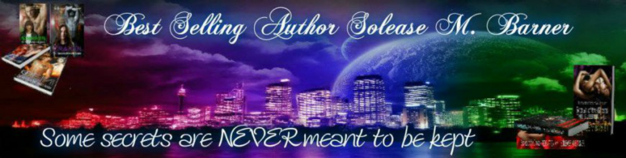 Solease M Barner, Romance Author
